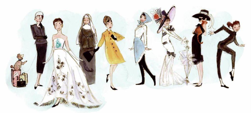Givenchy celebra la sua musa audrey hepburn sensi del for Stilista francese famoso