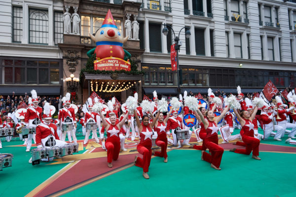 New York City- Macy's Great American Marching Band - 2015 Macy's Parade Credit Kent Miller Studios