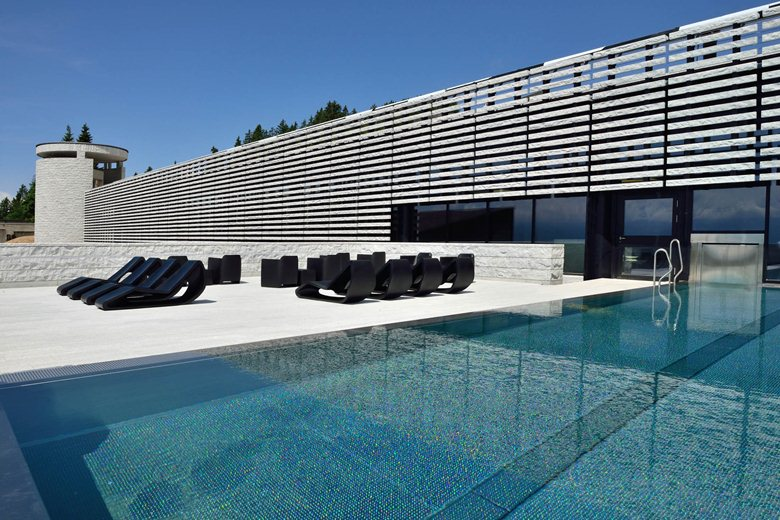 Architetture- alpine -Mineral Baths & Spa Rigi-Kaltbad