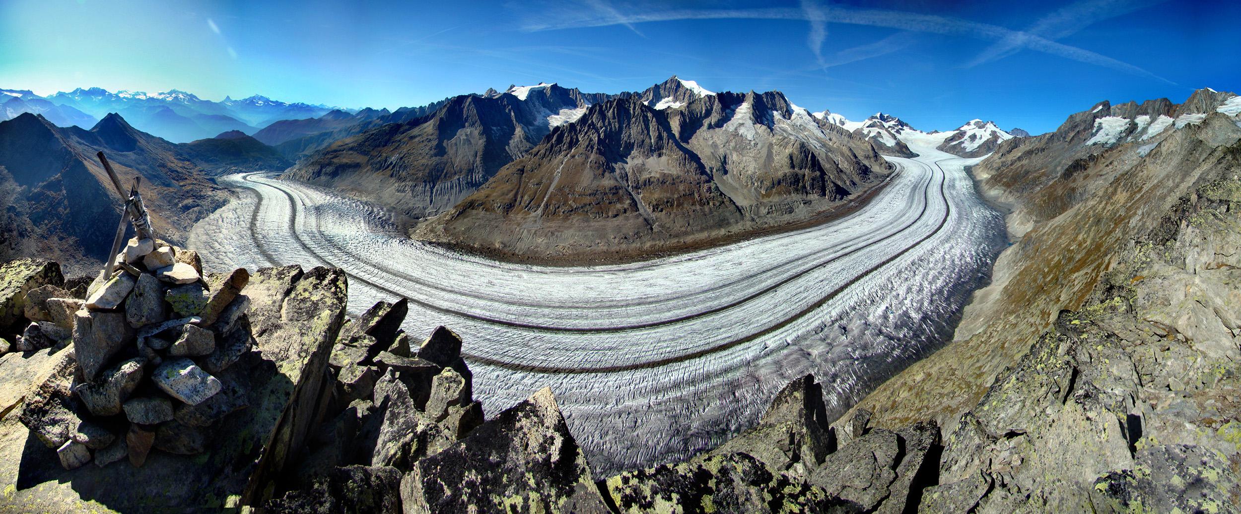ghiacciaio- Aletsch Arena.