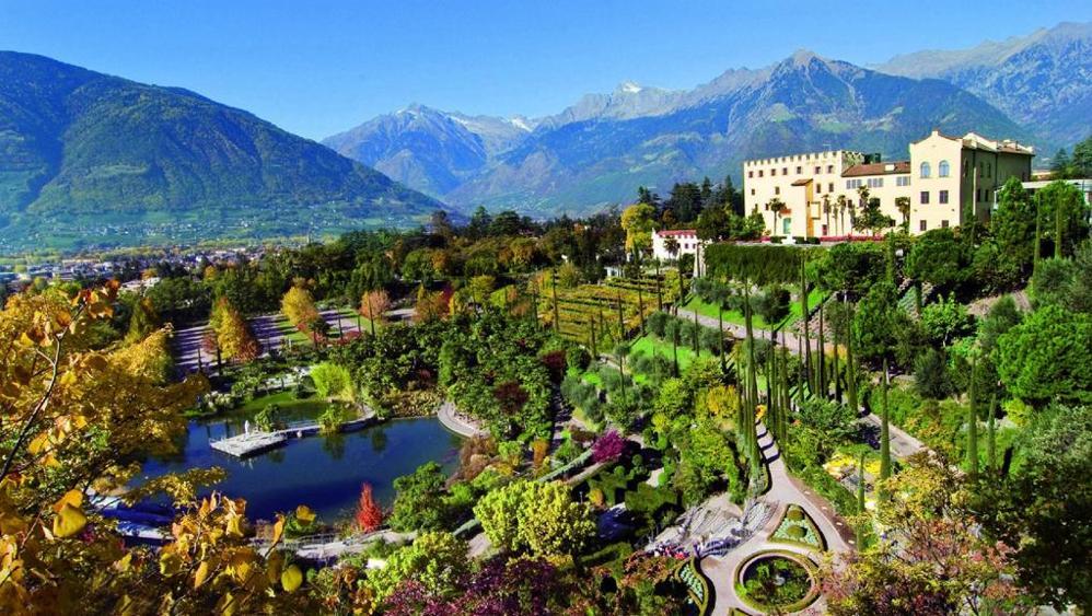 Villa Eden -Merano-Giardini di Sissi