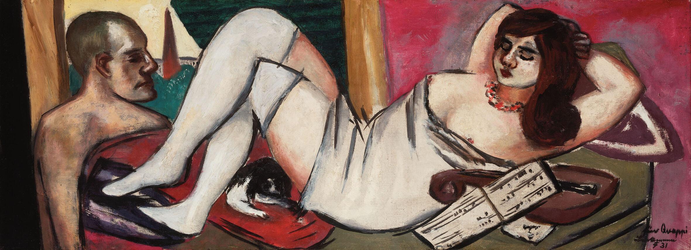 Max Beckmann- Museo -arte- Mendrisio